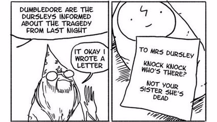 These Hilarious Harry Potter Comics Are the Best