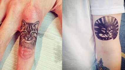 Classy Cat Tattoos For Cat Lovers