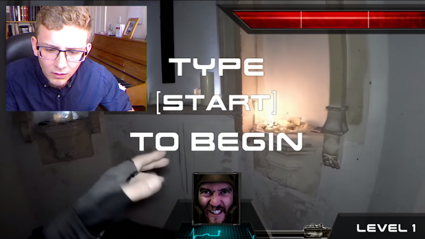 This Chatroulette Live Action Fist Person Shooter Is Awesome