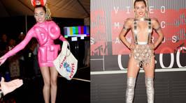 PHOTOS: Miley Cyrus' Looks at the MTV VMAS 2015
