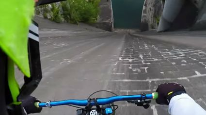One of the Most Terrifying GoPro Bike Videos!