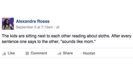 Parents Share Their Funny Facebook Posts About Their Kids