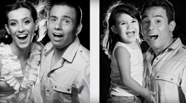 Dad Re-Creates Photos Of His Late Wife With His Young Daughter