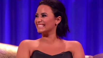 Demi Lovato Kind Of, Pretty Much Admits To Being Bisexual...