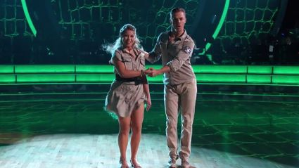 Bindi Irwin Pays Tribute To Her Dad On U.S. 'Dancing With The Stars'