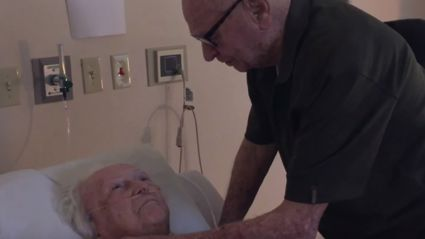 Grandpa Sings to His 93-Year-Old Dying Wife & IT'S SO SAD