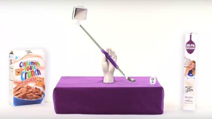 Save Us...The Selfie Spoon Is Here