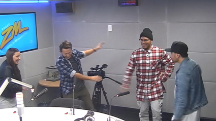 VIDEO: Guy And Georgia Catch Up With Stan Walker And Tia Maipi
