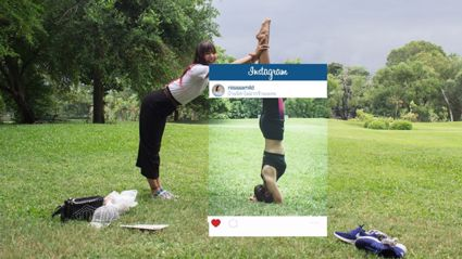 What Really Happens In the Background Of Stylised Instagram Shots