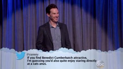 Celebrities Read Their Mean Tweets, Only This Time They Do It Live