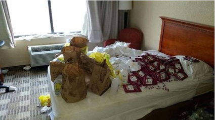 These Pictures Show The Most Disgusting States Some Hotel Rooms Have Been Left In