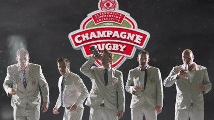 The Alternative Commentary Collective Presents – Champagne Rugby Episode 1: