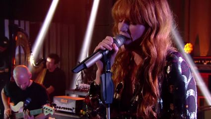 "Florence + The Machine Covers Skrillex and Diplo's ""Where Are Ü Now"""