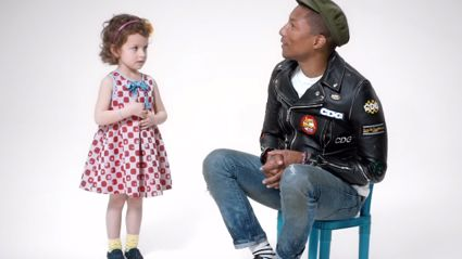Pharrell Talks to Kids About What Makes Them Happy and It's Adorable