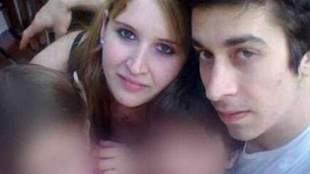Leandro Acosta (right) and his step-sister Karen Klein (left) who are also lovers, killed their parents. Photo / Facebook