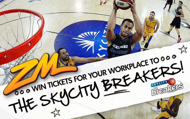AUCKLAND - Win SKYCITY Breakers Best Seats For Your Workplace
