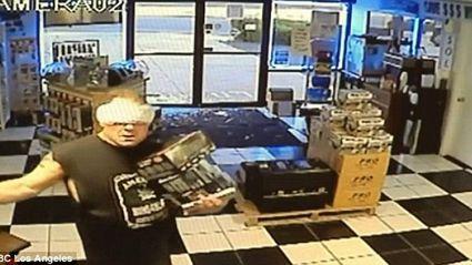 'Maxi-Pad' Bandit Busted...