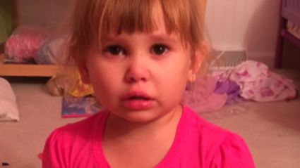 3-Year-Old Blames Barbie When She Gets In Trouble
