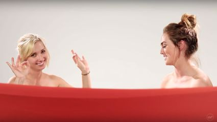 Watch What Happens When BFFs See Each Other Naked For the First Time
