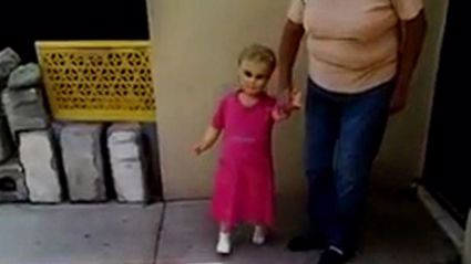 This Creepy Walking Doll Is Terrifying the Internet