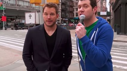 Chris Pratt Hits the Street Of New York...People Don't Recognise Him