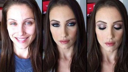 Adult Actresses Before and After Make-Up