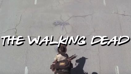 Watch This 'Friends'-Themed 'Walking Dead' Intro