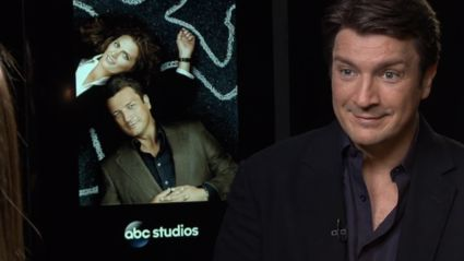 Video: Megan's LA Interview With Nathan Fillion From Castle