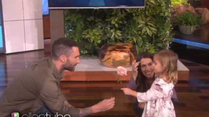 Watch Adam Levine Meet His Biggest (Little) 3-Year-Old Fan on Ellen