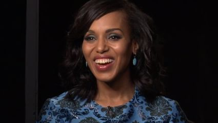Video: Megan's Interview With Kerry Washington From Scandal