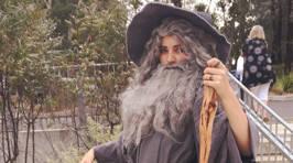 "Girl Creates Amazing ""Sexy Gandalf"" Costume"