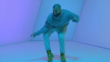 "Drake Breaks Out The Cha-Cha In New Music Video For ""Hotline Bling"""