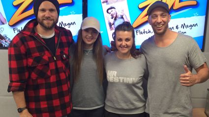 Listen: Fletch, Vaughan and Megan Catch Up With Jamie Curry