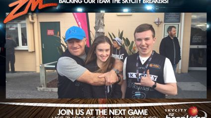 ZM's Fan Of the Game: SKYCITY BREAKERS