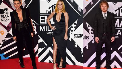 PHOTOS: MTV EMAs Red Carpet 2015