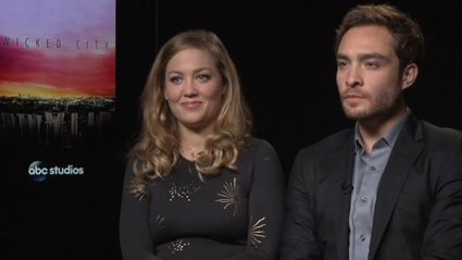 Video: Megan's Interview With Ed Westwick And Erica Christensen From Wicked City