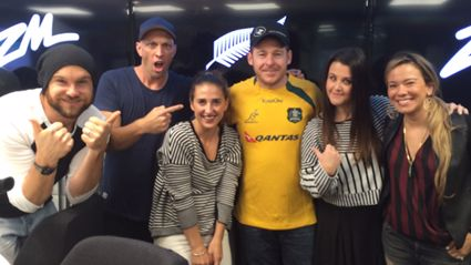 Video: Fletch, Vaughan and Megan's Sporty Breakfast Special!
