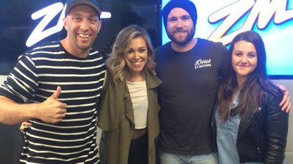 Video: Fletch, Vaughan and Megan Interview Rachel Platten