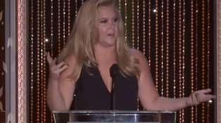 Amy Schumer Is Hilarious (As Per) At The Hollywood Film Awards