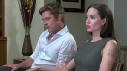 Brad Pitt Praises Angelina Jolie's Courage In New Joint Interview