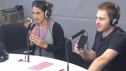 VIDEO: Jase & PJ Commentate The Melbourne Cup Using The Speech Jammer App