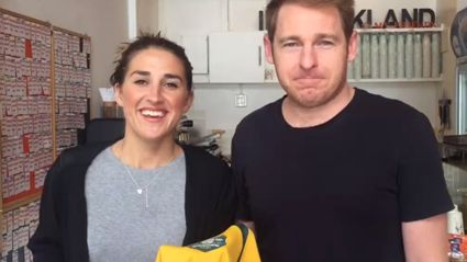 VIDEO: Jase Eats His Wallabies Jersey