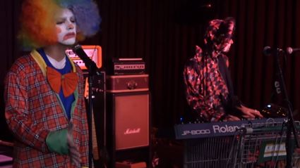 Joe Jonas Covered Adele's 'Hello' With His Band While Dressed As A Clown