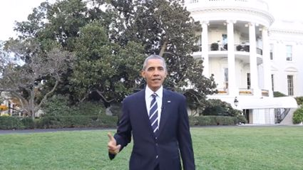 "Barack Obama Launches Facebook Page With Guided Video Tour Of His ""Backyard"""