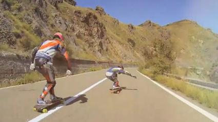 Daredevil Longboarders Tackle Italian Mountainside