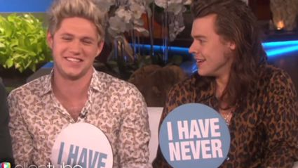 One Direction Play 'Never Have I Ever' With Ellen