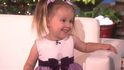 3-Year-Old Shows Off How She Knows All the Elements of the Periodic Table On Ellen