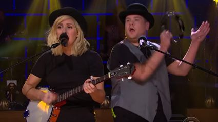 James Corden's 'Love Me Like You Do' Remix-Up With Ellie Goulding