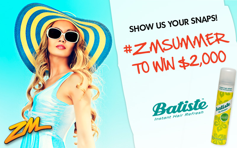 #ZMSUMMER to Win $2,000 Thanks to Batiste!