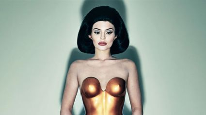 Kylie Jenner Channels Kim In New Photoshoot